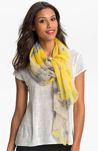 Made of Me Accessories Tie Dye Stripe Scarf