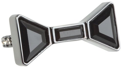 Marc by Marc Jacobs - ID Bow Ring (Hematite) - Jewelry