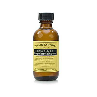 Pharmacopia natural citrus massage and body oil ($10)