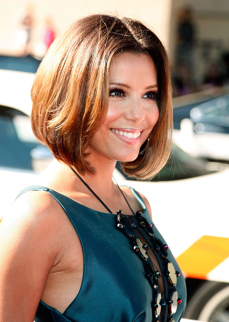 At the 2008 ALMA Awards, Eva showed off a lob hairstyle.