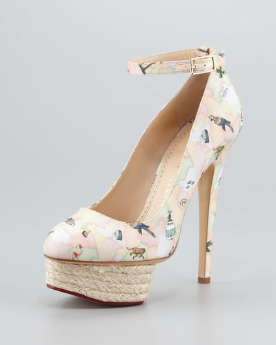 Charlotte Olympia Dolores Brazilian Printed Pump