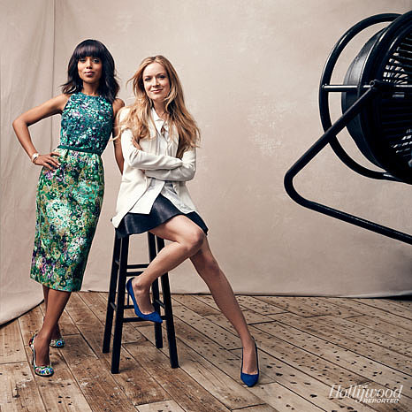 Kerry Washington and Erin Walsh