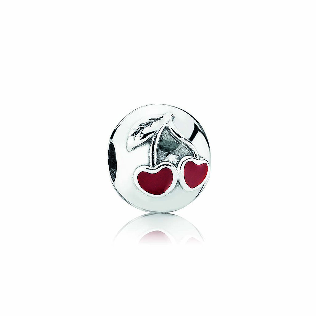 PANDORA love red cherries clip, $49.