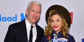 Video: Anderson Cooper Kisses Madonna, Beyoncé's Fierce New Track, More Headlines!