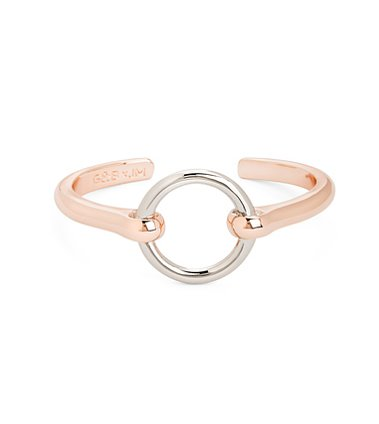 Throw on this Bit Cuff in Rose Gold ($30) to draw attention to your wrist.
