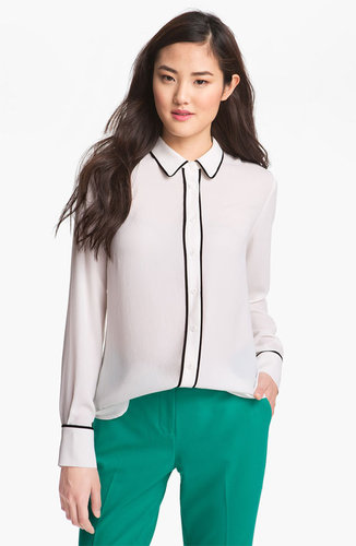 Pleione Piped Blouse