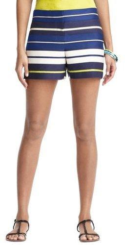 "Triumph Stripe Jacquard Shorts with 4"" Inseam"