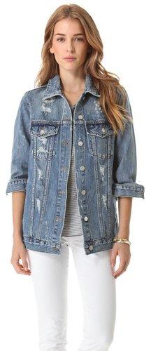 Washborn Oversize Denim Jacket