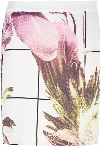 Lala Berlin floral print skirt