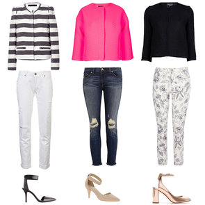 How to Wear a Cropped Jacket   Spring 2013