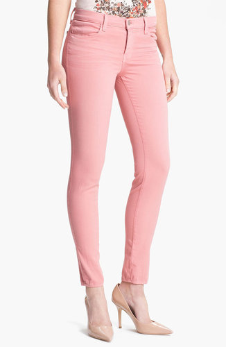 J Brand Super Skinny Stretch Jeans (Washed Coho)