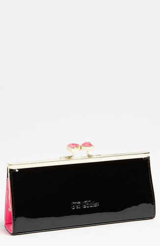 Ted Baker London Crystal Top Clutch