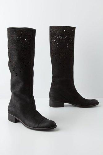 Openwork Laurel Boots