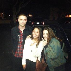 Photo: Robert Pattinson and Kristen Stewart Reunite in LA
