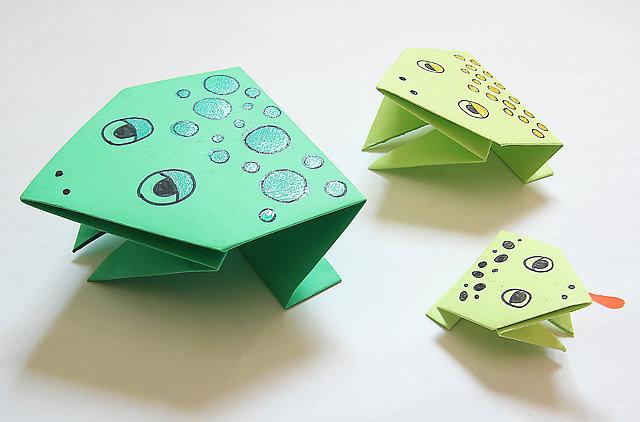 Rana Craft For Kids