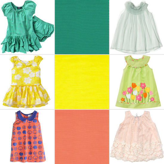 10 Girls' Dresses Inspired by Pantone's Cheery Spring Colors