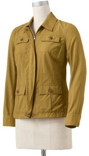 Croft and barrow twill jacket