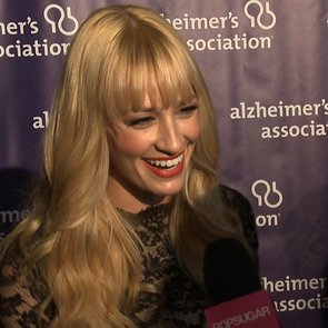 Beth Behrs at A Night at Sardi's 2013 (Video)