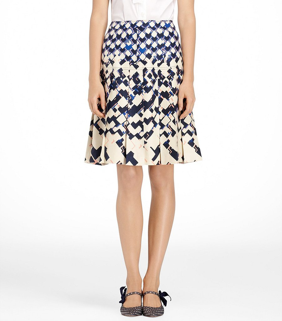 Pair this printed Tory Burch Simon skirt ($158, originally $395) with a navy blazer and strappy sandals for a new twist on office dressing.