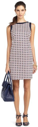 Geometric Print Sleeveless Dress
