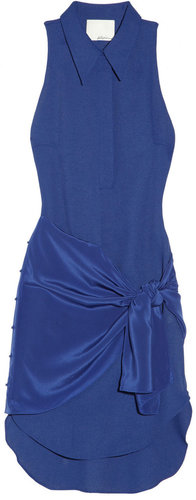 3.1 Phillip Lim Crepe and silk dress