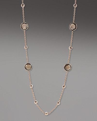 """Ippolita Rose Mini Lollipop Quartz Necklace, 37""""L"""