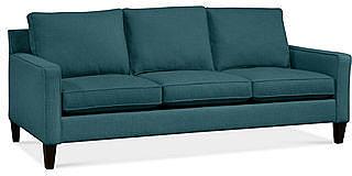 "Alanis Fabric Sofa, 81""W x 37""D x 34""H: Custom Colors"