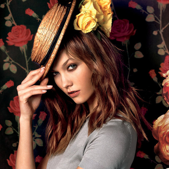 La Vie en Rose: Karlie Kloss Stars in Moda Operandi's Flower-Filled Spring 2013 Ads