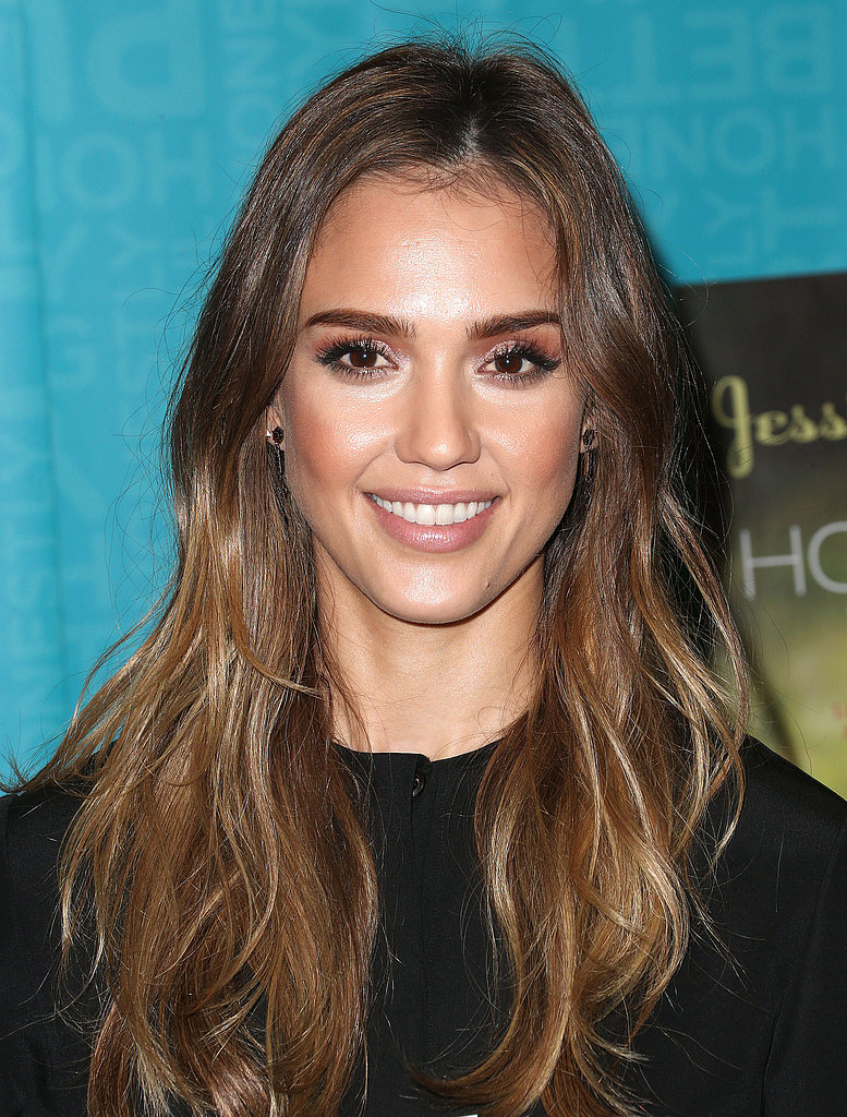 Sure, fancy updo tutorials come in handy, but these everyday casual hair looks are really useful. Jessica Alba's look of beach-ready waves was the top pinned style.