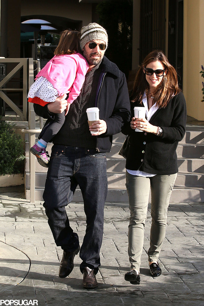 Ben Affleck carried Seraphina.