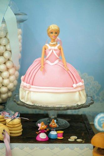 A Cinderella Princess Cake