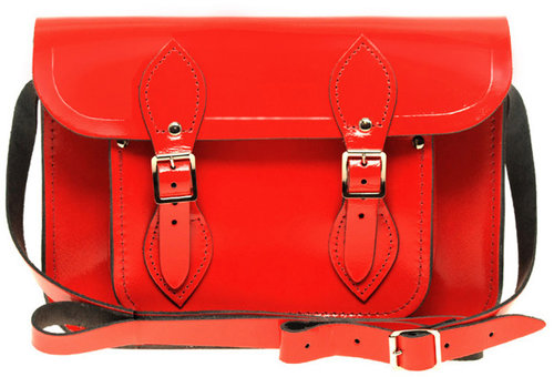 "Cambridge Satchel Company Exclusive To ASOS 11"" Patent Leather Satchel"