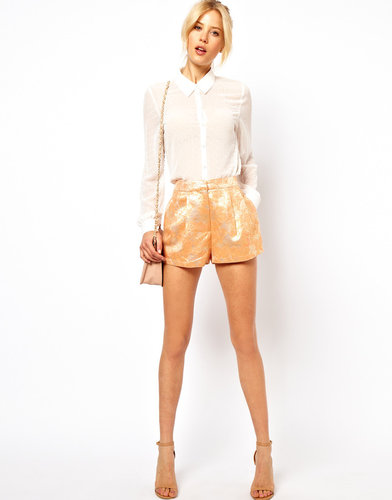 ASOS Shorts in Summer Jacquard