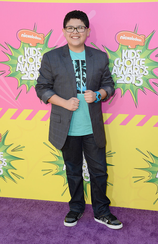 Rico Rodriguez stepped out for the 2013 Kids' Choice Awards.