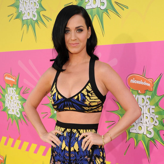 Katy Perry on Kids' Choice Awards Red Carpet | 2013