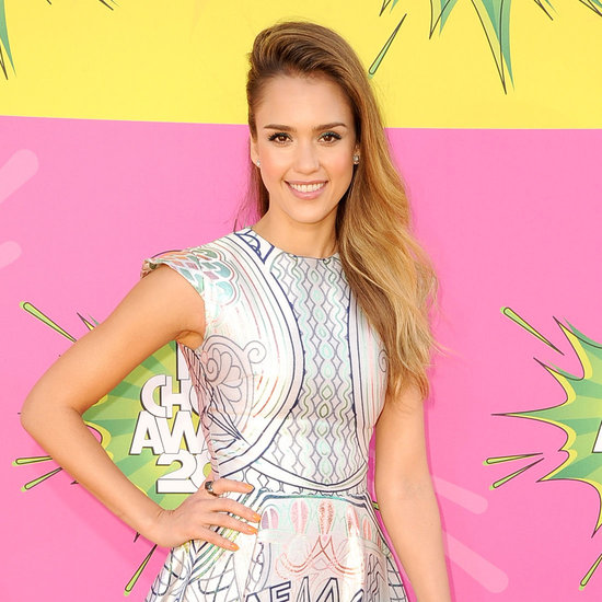 Jessica Alba on Kids' Choice Awards Red Carpet | 2013
