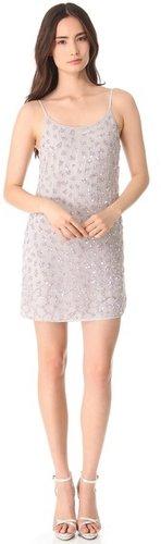 Alice + olivia Beaded Russel Slip Dress
