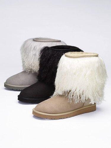 UGG® Australia Furry-cuff Boot
