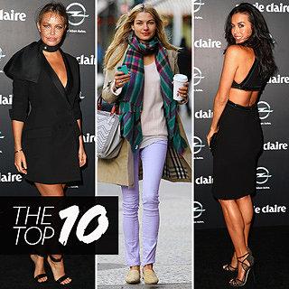 Best Dressed Celebs: Megan Gale, Lara Bingle, Jessica Hart