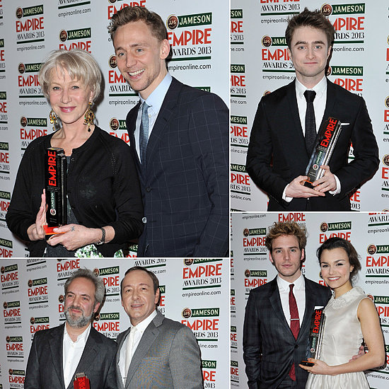 Skyfall Wins Big at the Jameson Empire Awards in London