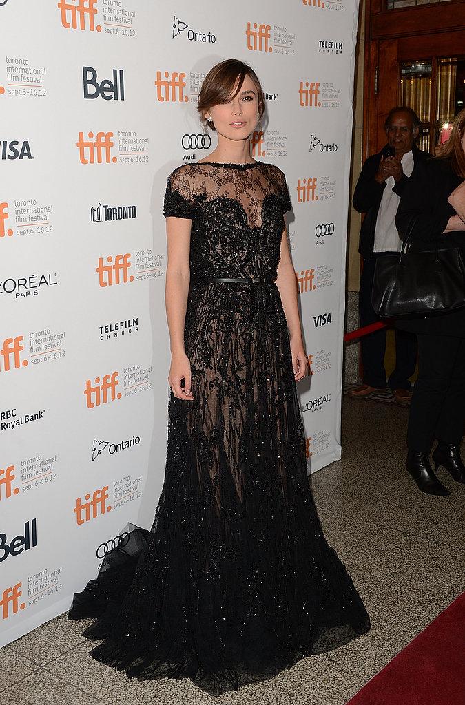 Keira Knightley at the 2012 Toronto Film Festival