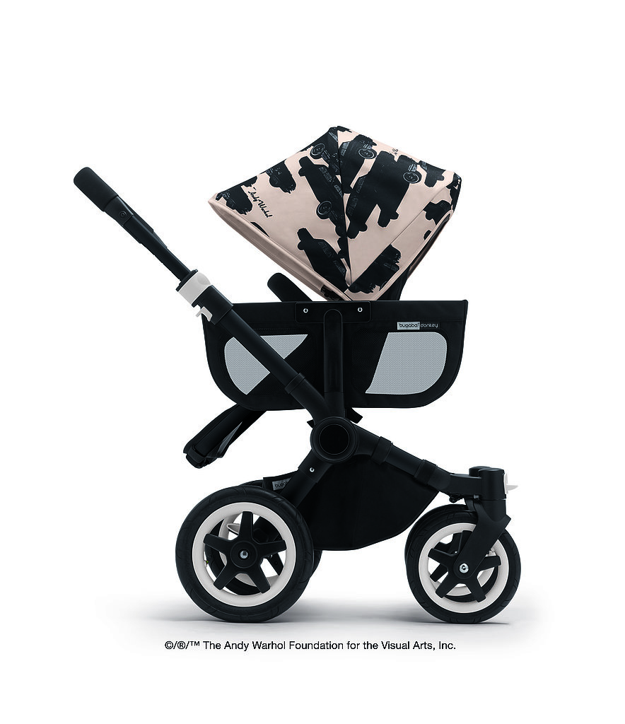 Bugaboo X Warhol: Iconic Pop Art For the Stroller Set