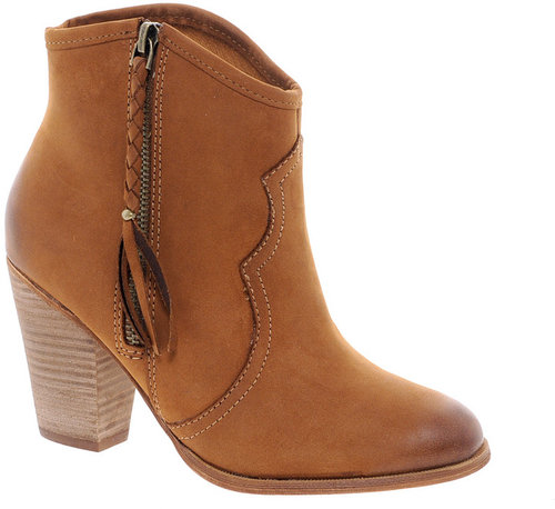 ALDO Fastrost Tan Tassled Ankle Boots
