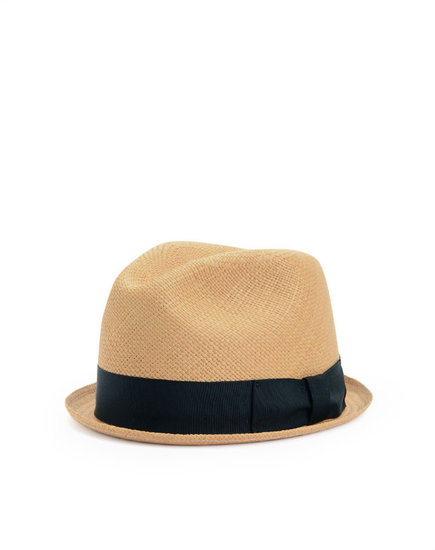 Center Dent Fedora - Natural
