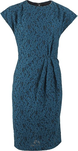 L'WREN SCOTT Kimono Sleeve Lace Sheath Dress