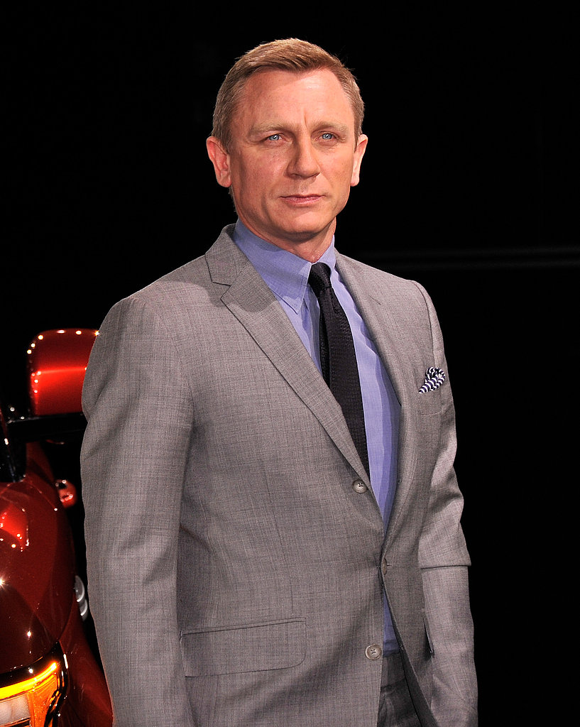 Daniel Craig Puts His Driving Skills to the Test
