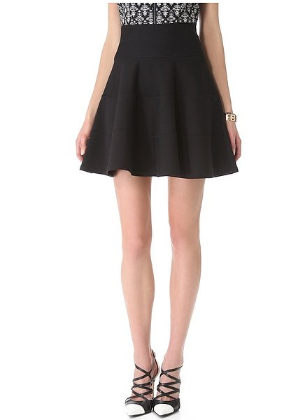 Make this Robert Rodriguez seamed fit-and-flare skirt ($285) your new 9-to-5 essential.