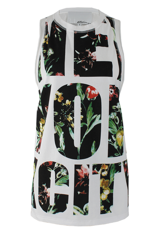"I'll admit, I'm the first to throw my hands up in the air when I hear ""Empire State of Mind."" 3.1 Phillip Lim's ode to NYC in this New York City Tank Top ($150) reminds me of the tulip beds in front of the Plaza Hotel in Summer, as well as the designer's ineffable cool. Let's call it required wearing for the Jay-Z show at Yankee Stadium this Summer.  — Melissa Liebling-Goldberg"