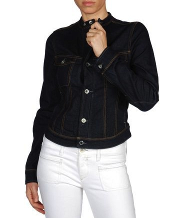 I don't consider myself a denim jacket girl, but I fell instantly in love with this Diesel + Edun collarless denim jacket ($348) because the mock collar makes it so different than all the other ones I've seen. I can't wait to throw it on top of all my looks to give them a cool-girl spin.  — Melody Nazarian