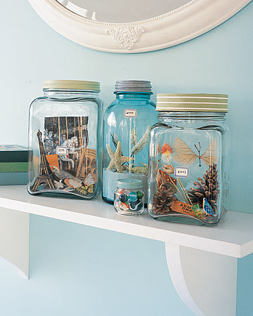 Spring Break Memory Jars